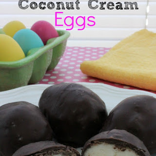 Homemade Coconut Cream Eggs