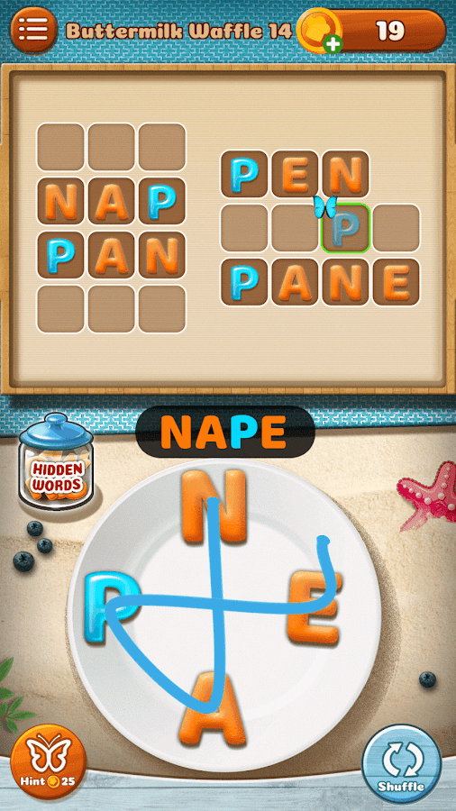 Word Puzzle - Cookies Jumble Screenshot 2