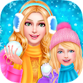 Free app Mommy & Baby Winter Family Spa Tablet