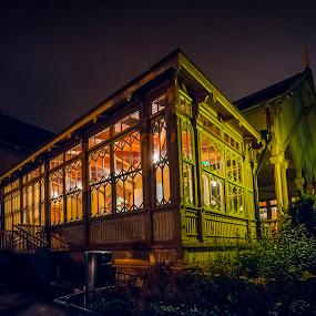 Helsinki Zoo restaurant at midnight by Juha Kauppila - Novices Only Landscapes