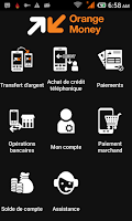 Screenshot of Orange Money Madagascar