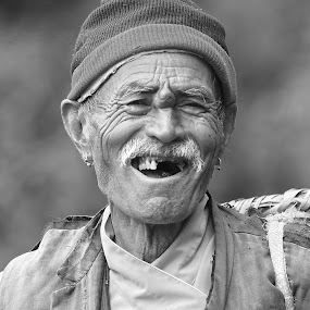by Rajesh Dhungana - People Portraits of Men (  )