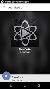 AtomRadio - screenshot