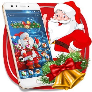 Cute Santa Christmas Theme For PC / Windows 7/8/10 / Mac – Free Download