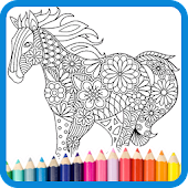Free Coloring Book: Animal Mandala APK for Windows 8