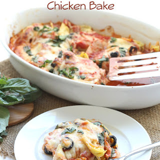 Easy Mediterranean Chicken Bake