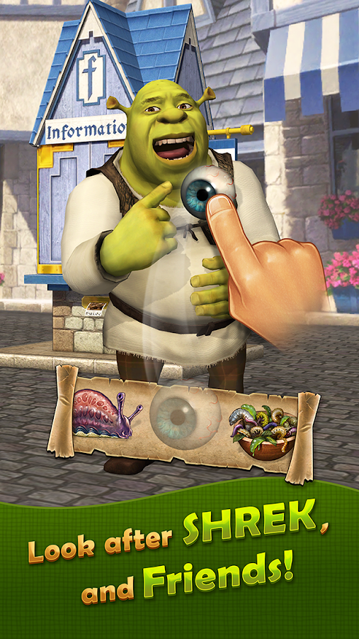 Pocket Shrek Screenshot 1