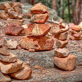 Cairn Farm by Michael Land - Nature Up Close Rock & Stone ( colorado, boulder, chautauqua, hiking, flatirons )