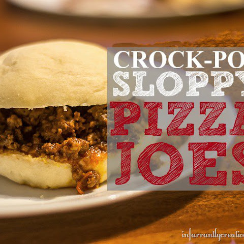 Crock Pot Sloppy Joes – Pizza Style