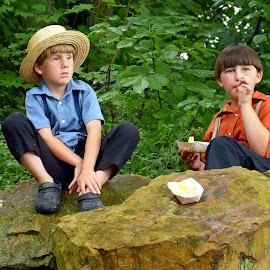 Amish Boys by Will Zook - Babies & Children Children Candids