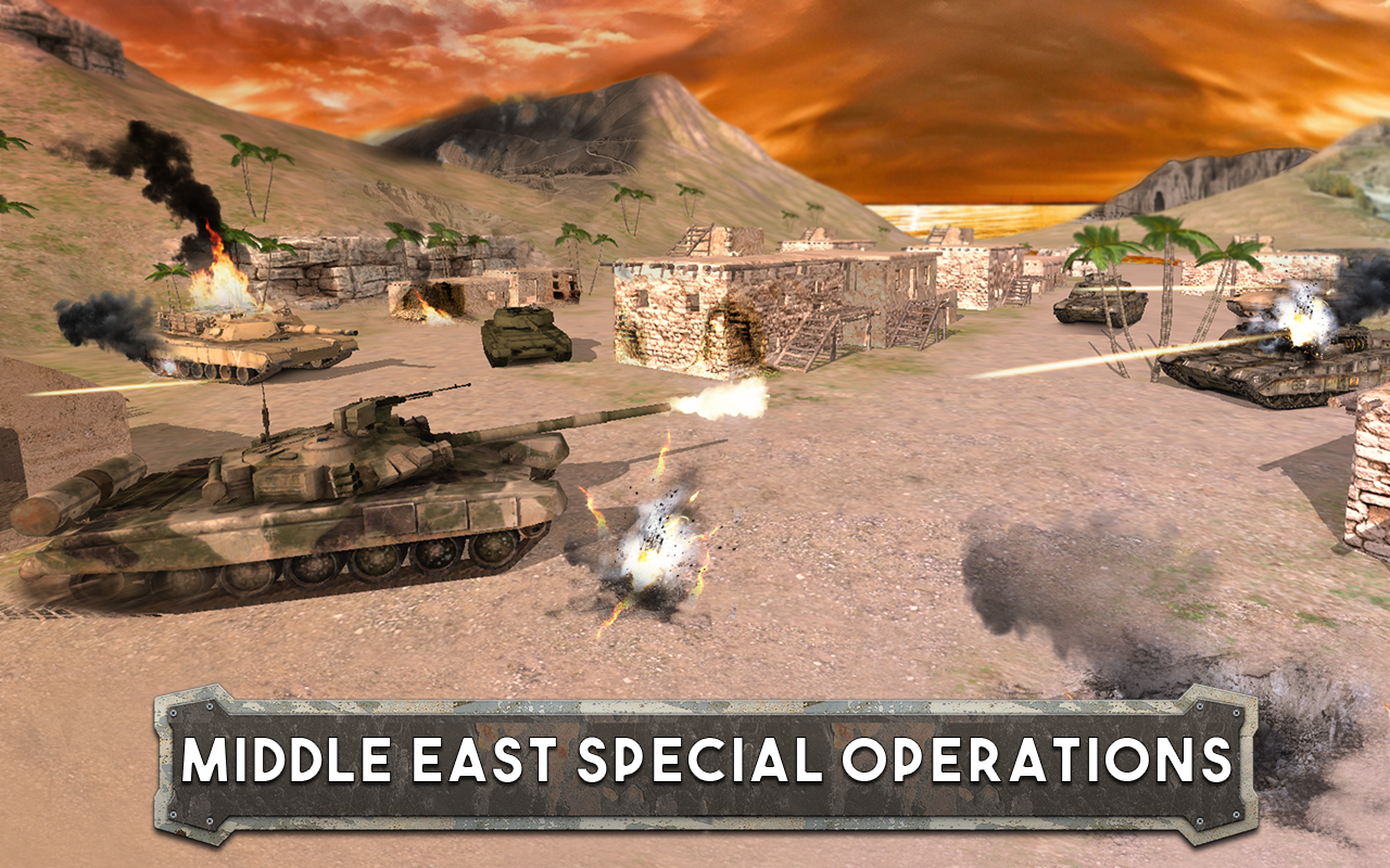Tank Battle: Army Warfare 3D Screenshot 1