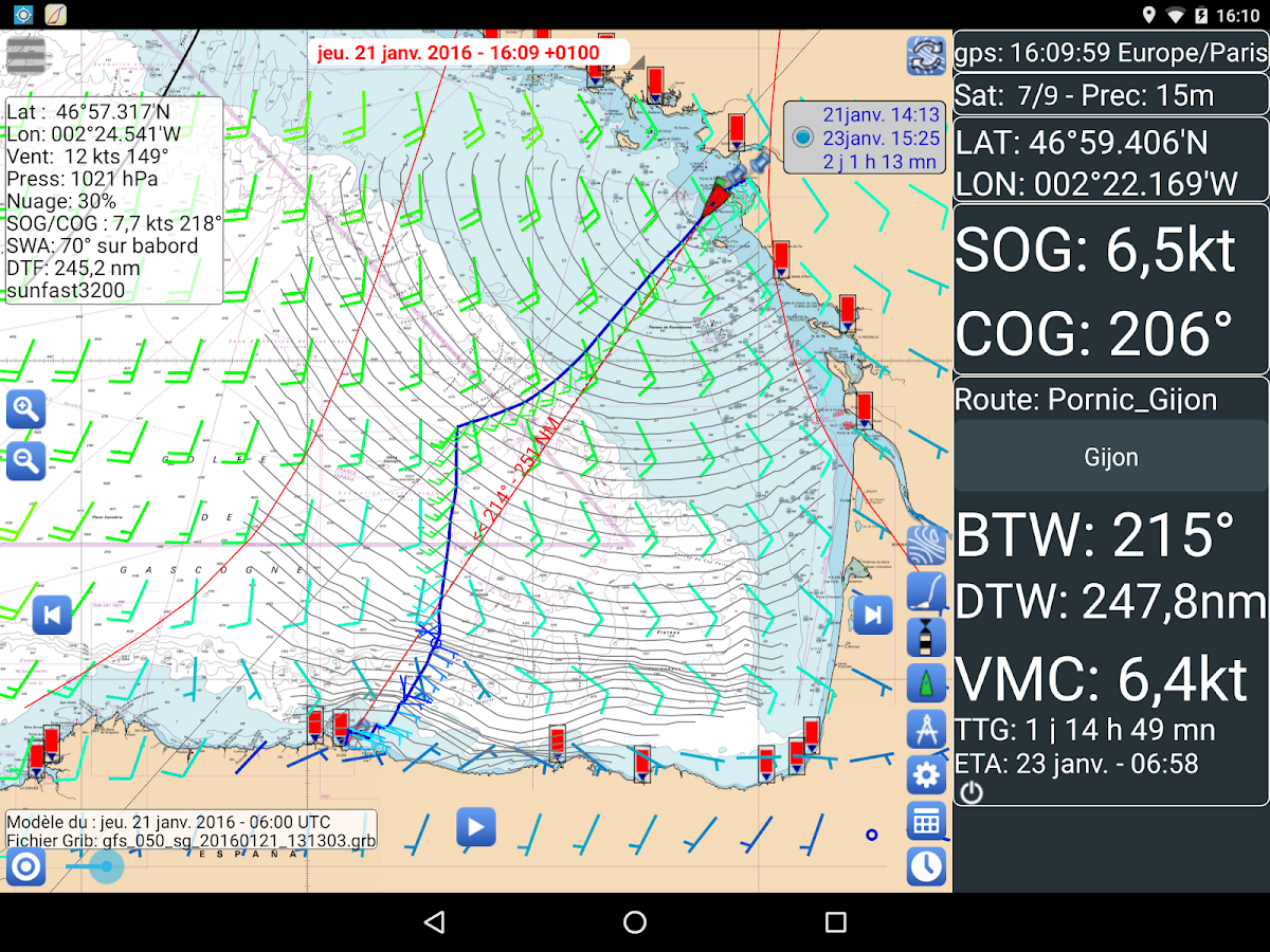Weather - Routing - Navigation Screenshot 10