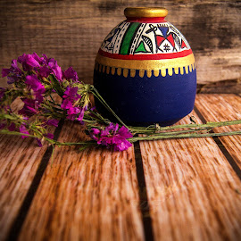 Mexican Vase by Prasanta Das - Artistic Objects Other Objects ( vase, mexican, miniature )