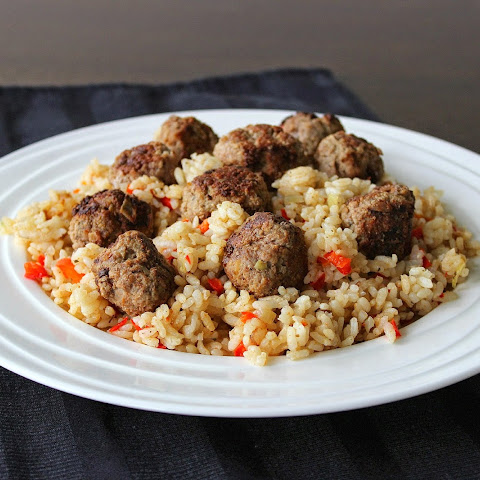 Moroccan Spiced Lamb and Rice