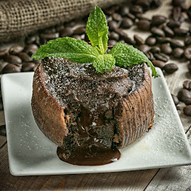 Lava cake by Cary Chu - Food & Drink Cooking & Baking
