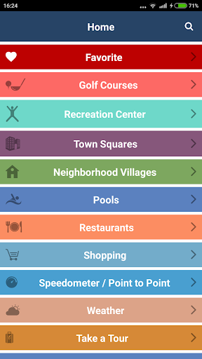 Villages GPS - screenshot