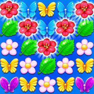 Butterfly Flower Free Match Online PC (Windows / MAC)