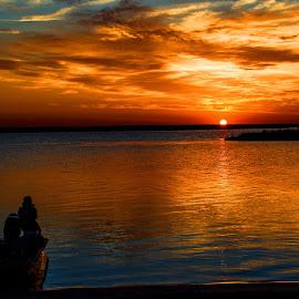 Splendor of the Light by Wendy  Walters - Landscapes Sunsets & Sunrises ( rigolets, sunset, marsh,  )