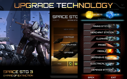 Space STG - Galactic Strategy APK for Blackberry