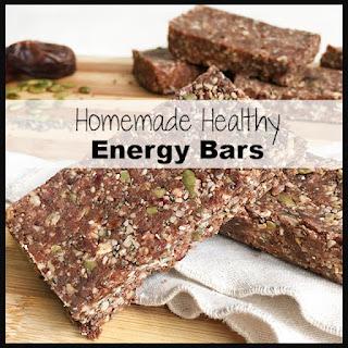Energy Bar No Bake Healthy Recipes