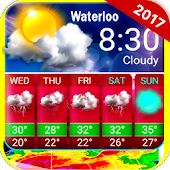 App Wterloo Weather Live - Free Widget Forecast APK for Kindle