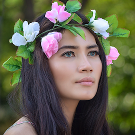 Dewi  by Doeh Namaku - People Portraits of Women