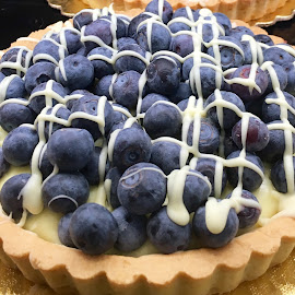 Blackberry Tart by Lope Piamonte Jr - Food & Drink Cooking & Baking