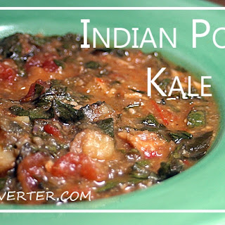 Slow Cooker Indian Potato Kale Soup