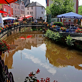 Saarburg by Sigitas Baltramaitis - City,  Street & Park  Markets & Shops