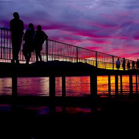 Tahoe sunset by Drew Tarter - Landscapes Sunsets & Sunrises ( sunset, lake, scenic view, scenic, lake tahoe,  )