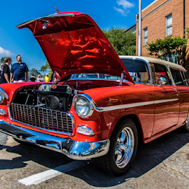 1955 Chevy Nomad by Kenneth Anderson - Transportation Automobiles ( car, wagon, nomad, chevy, thomasville car show )