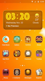 Hola 2016- launcher Theme APK for Blackberry