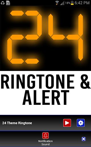 24 Theme Ringtone and Alert - screenshot