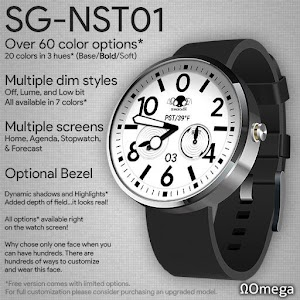 SG-NST01 Omega Watch Face