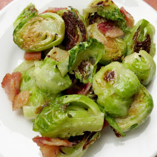 Roasted Brussel Sprouts With Bacon {Enjoy the Flavor}