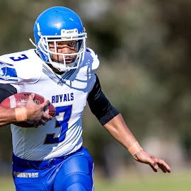 Gridiron Victoria by John Torcasio - Sports & Fitness American and Canadian football ( teamwork, outdoors, sports, melbourne uni royals, gridiron victoria )