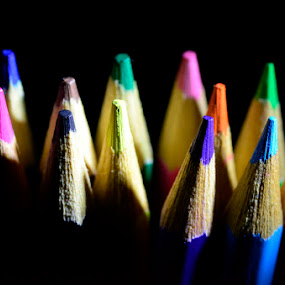 colored pencils by Rachmat Sandiko - Artistic Objects Other Objects