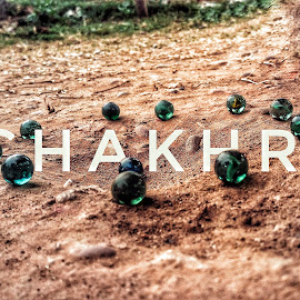 Chakhri by Arpit Sharma - Typography Captioned Photos ( #regionalgame, #marble, #soil, #abstract, #india, #artistic )
