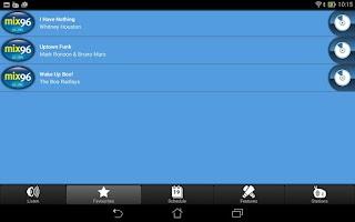 Screenshot of Mix 96