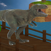 APK Game T-Rex Dinosaur Simulator Game for BB, BlackBerry