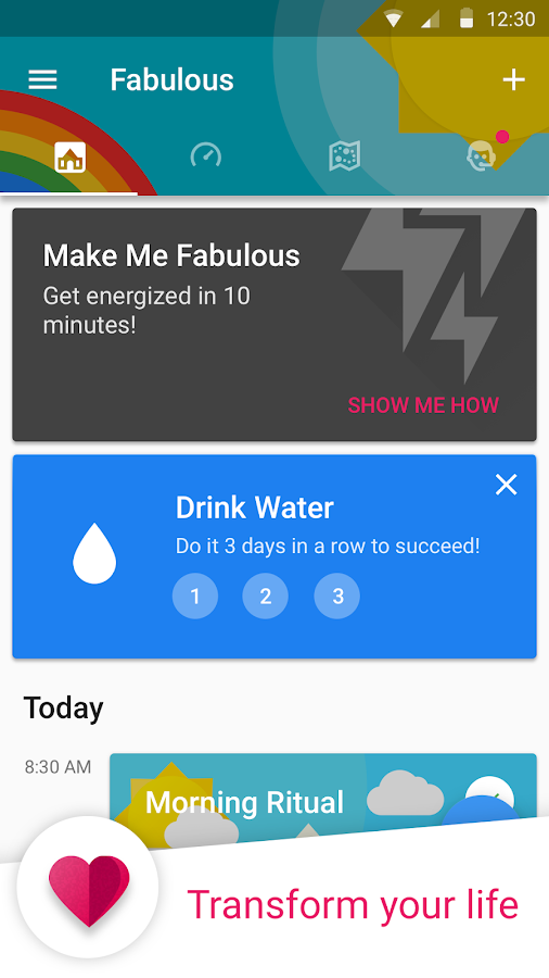 Fabulous: Motivate Me! Screenshot 1