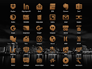 Woody Light Icon Pack: miniatura da captura de tela