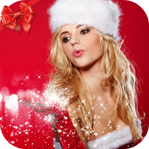 Hot christmas girls wallpaper android apps on google play for Hot christmas pics