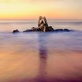 Solitary by John Souza - Landscapes Beaches ( pwcotherworldly-dq )