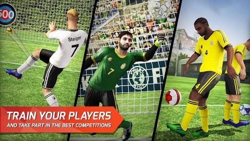 Final kick: Online football - screenshot