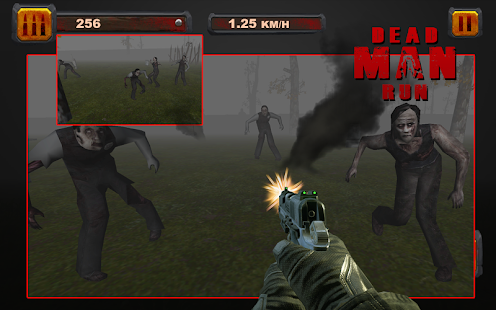 ZOMBIE HUNTER RUN 3D - screenshot