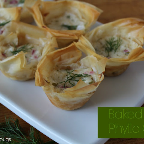 Baked Crab Phyllo Cups 0
