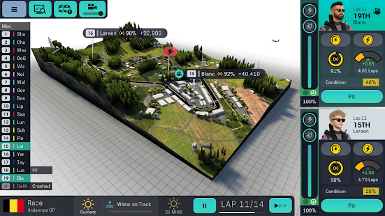 Motorsport Manager Mobile 3 Screenshot