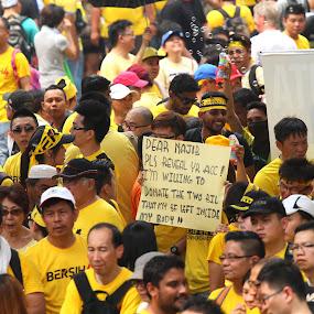 Bersih 4 Protester by Syafizul  Abdullah - People Street & Candids