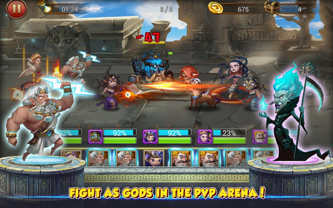 Gods Rush 2 Screenshot